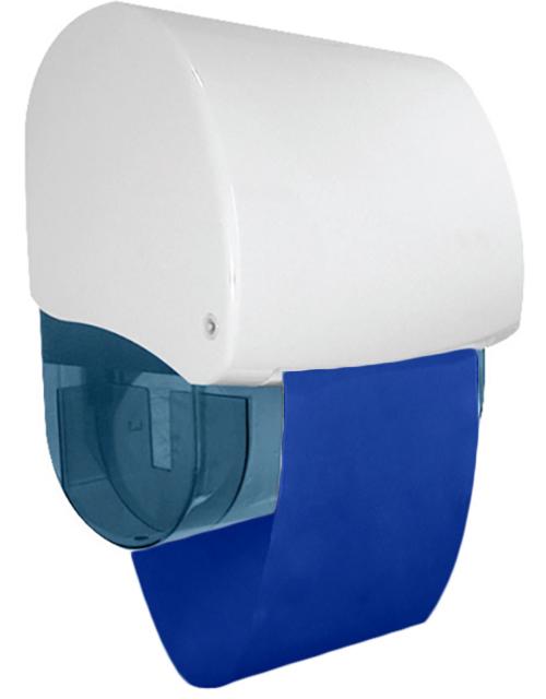 distributeur-essuie-main-textile-tissu-coton-bleu-rétractable-ecologique-lavable-bobine-robuste